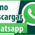 Como descargar Whatsapp Web